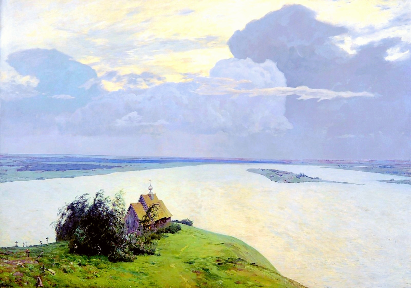 00 Isaak Levitan. Eternal Peace. 1894