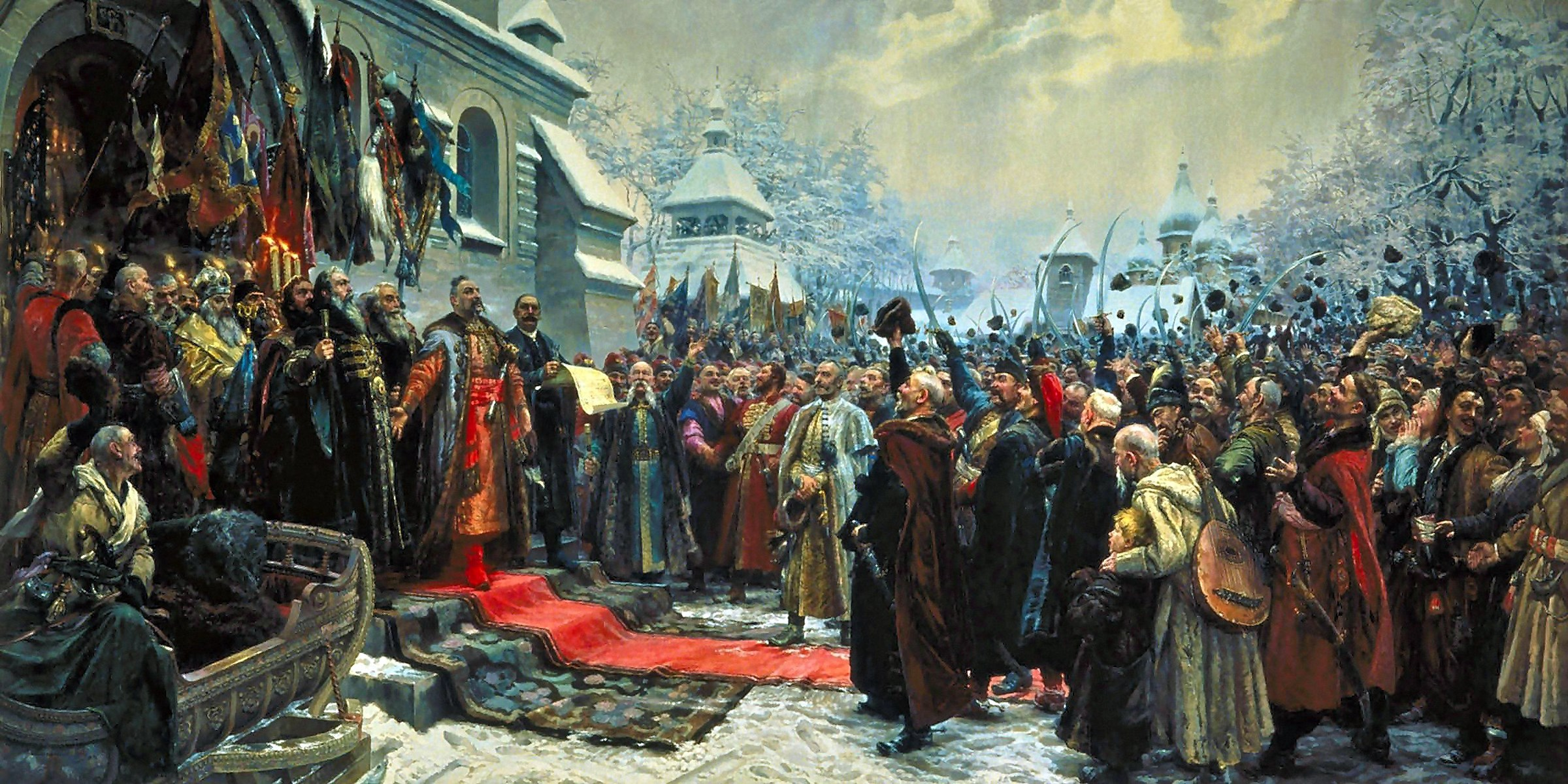 00 Mikhail Khmelko. Forever with Moscow, Forever with the Russian People! 1951