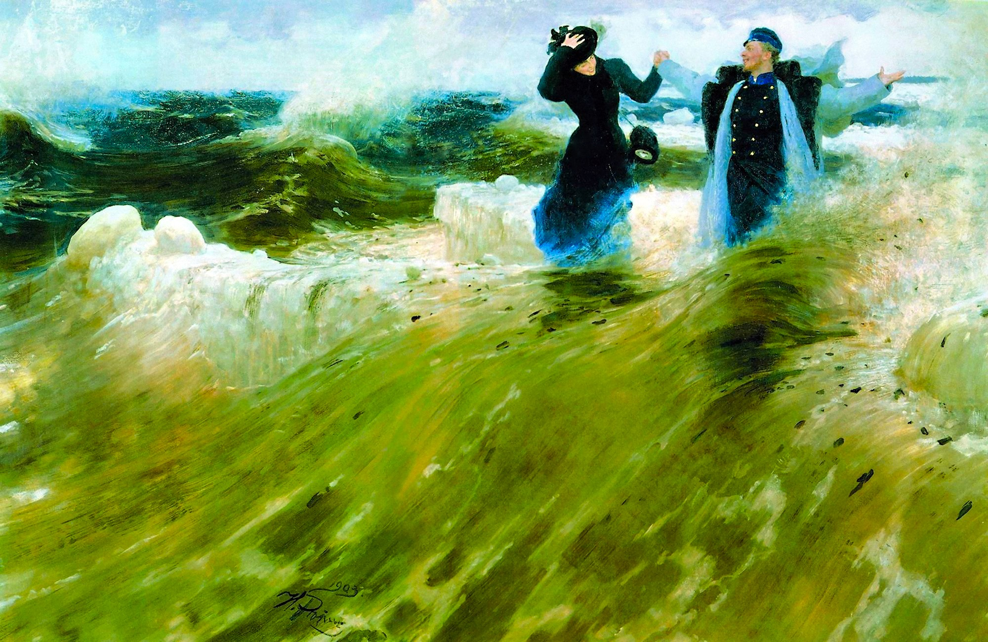 00 Ilya Repin. What Freedom! 1903