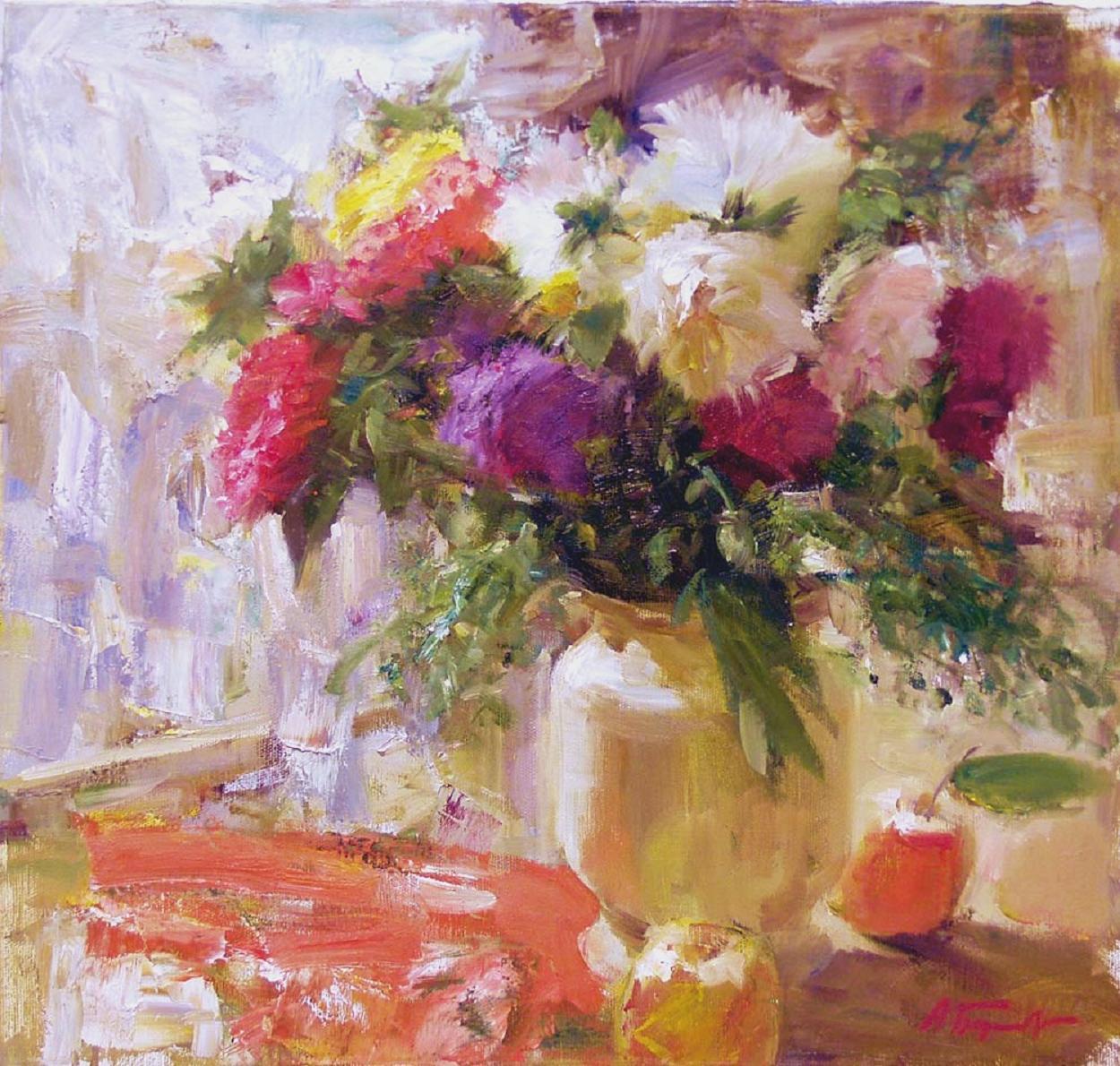 Andrian Bersenev. Flowers and Apples. 2000s | Art and Faith: http://01varvara.wordpress.com/2008/07/15/andrian-bersenev-flowers-and-apples-2000s/