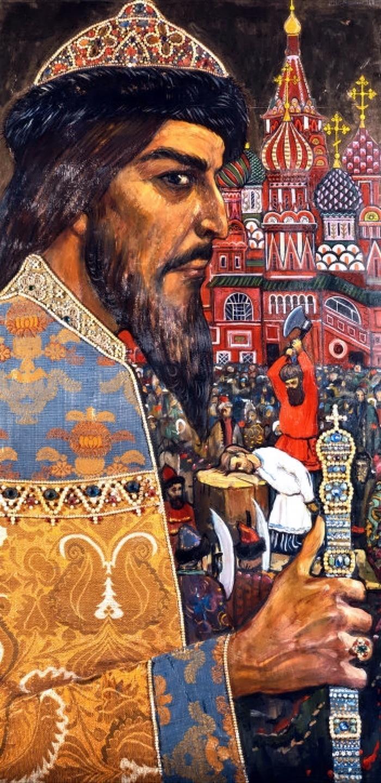 00 Ilya Glazunov. Ivan Grozny. 1974