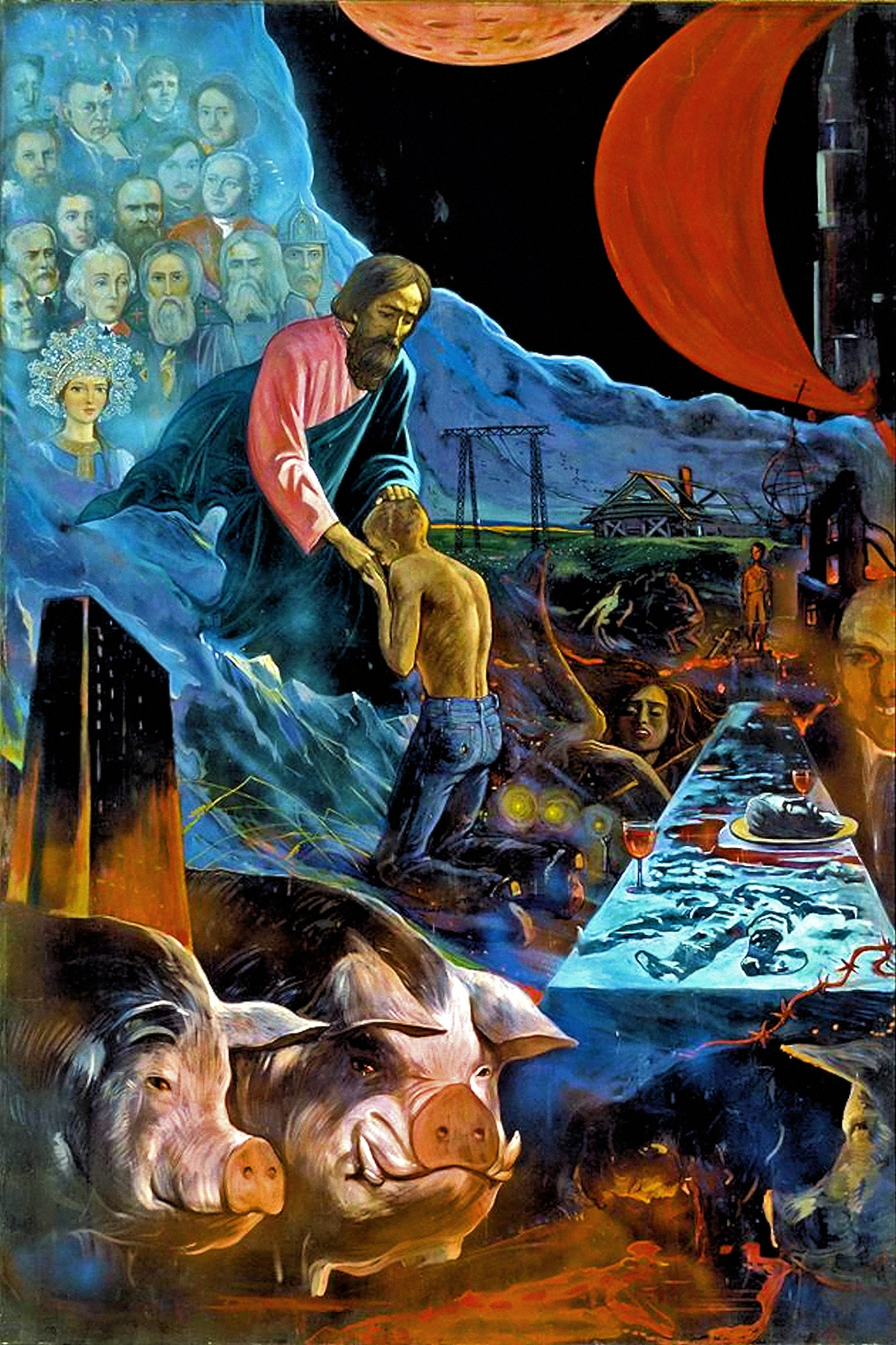 00 Ilya Glazunov. The Return of the Prodigal Son. 1977