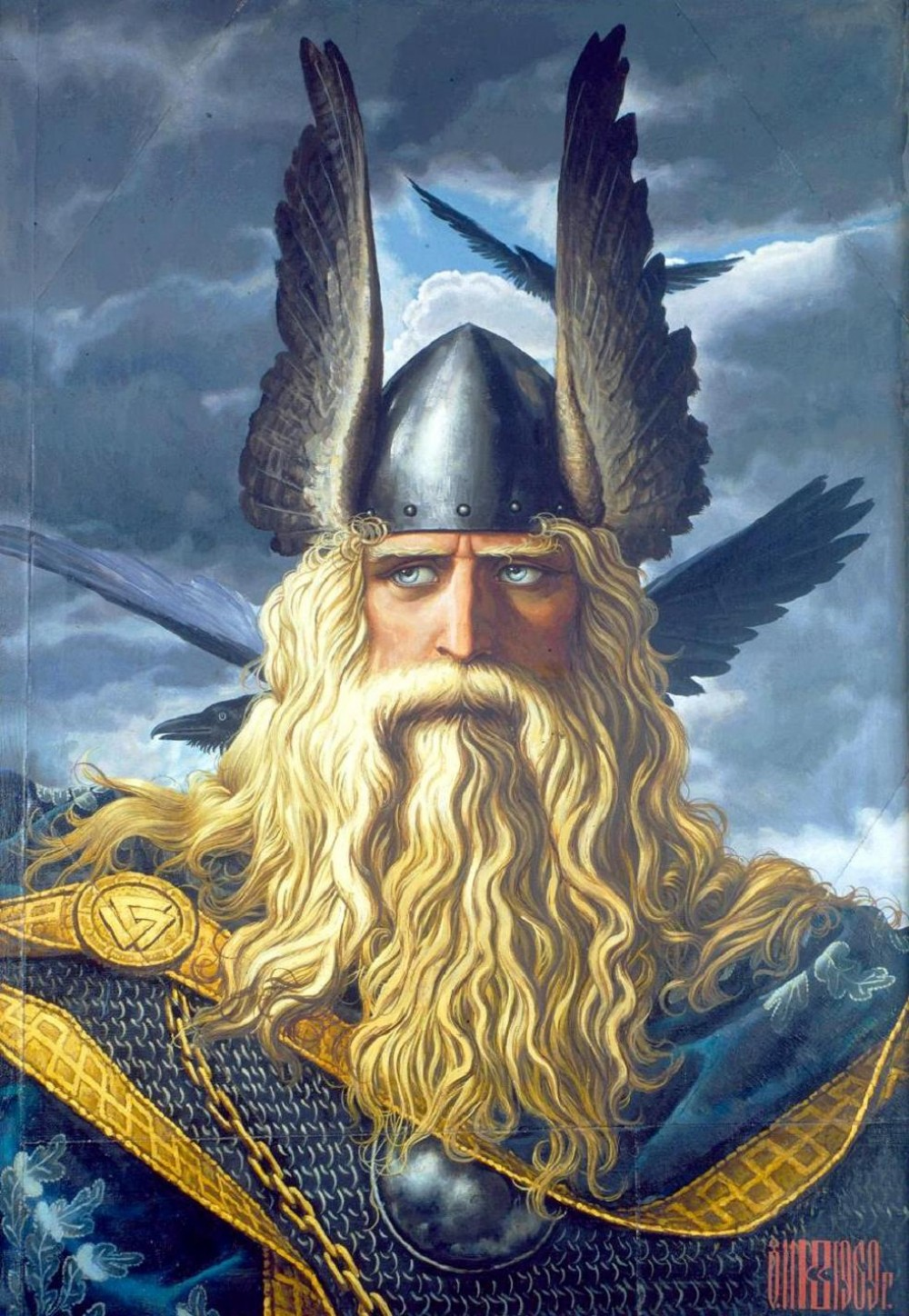Konstantin Vasiliev. Wotan: The Supreme God of the Ancient Norse ...