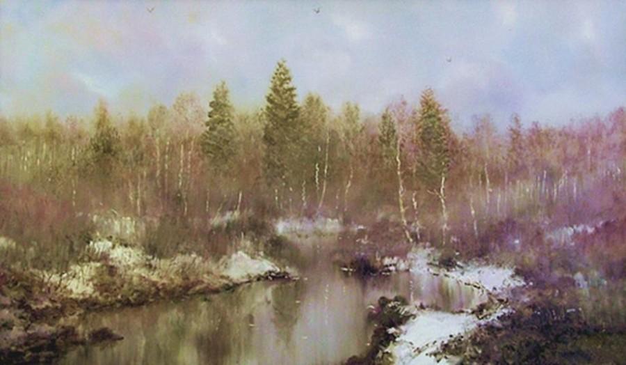 Konstantin Druzhin The Beginning Of Spring 2004 Art And Faith