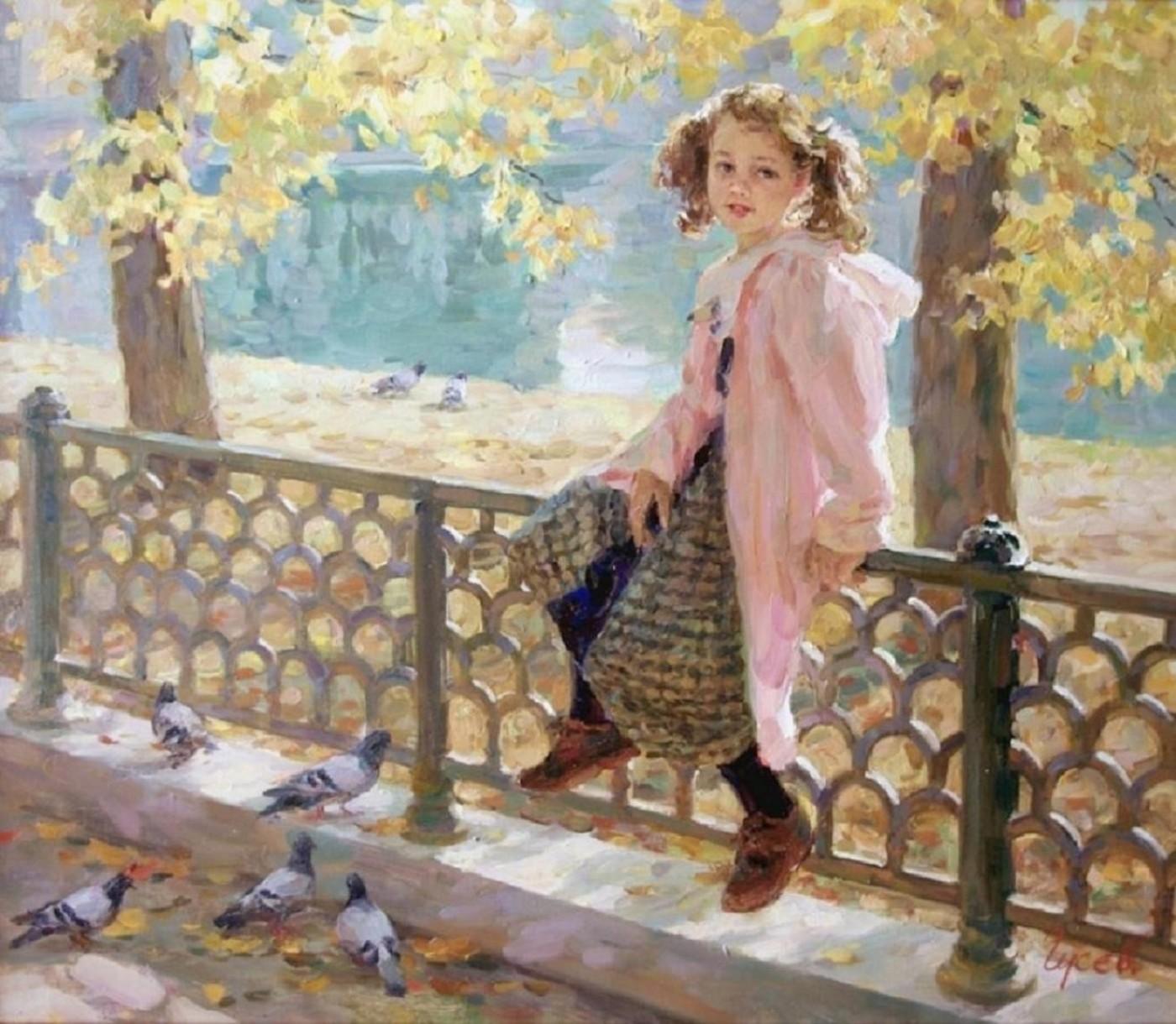 Vladimir Gusev Vladimir-gusev-b-1957-on-patriarchal-pond-no-date-e1262149163872