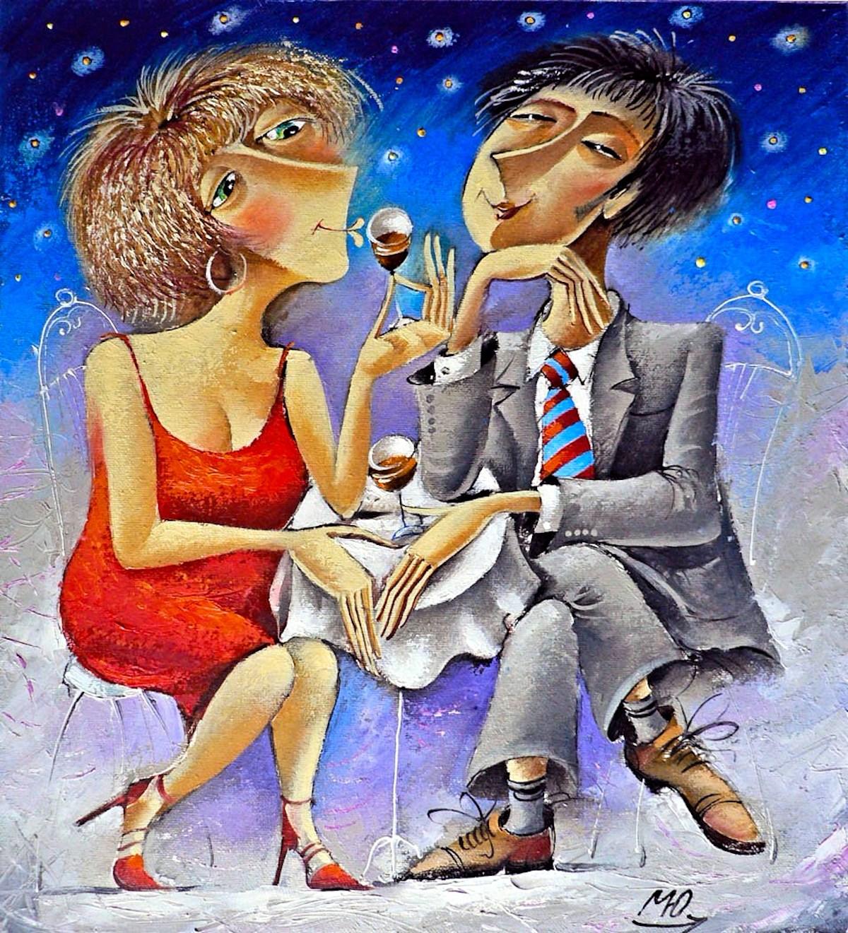 00 Yuri Matsik. A Couple on a Date. 2006