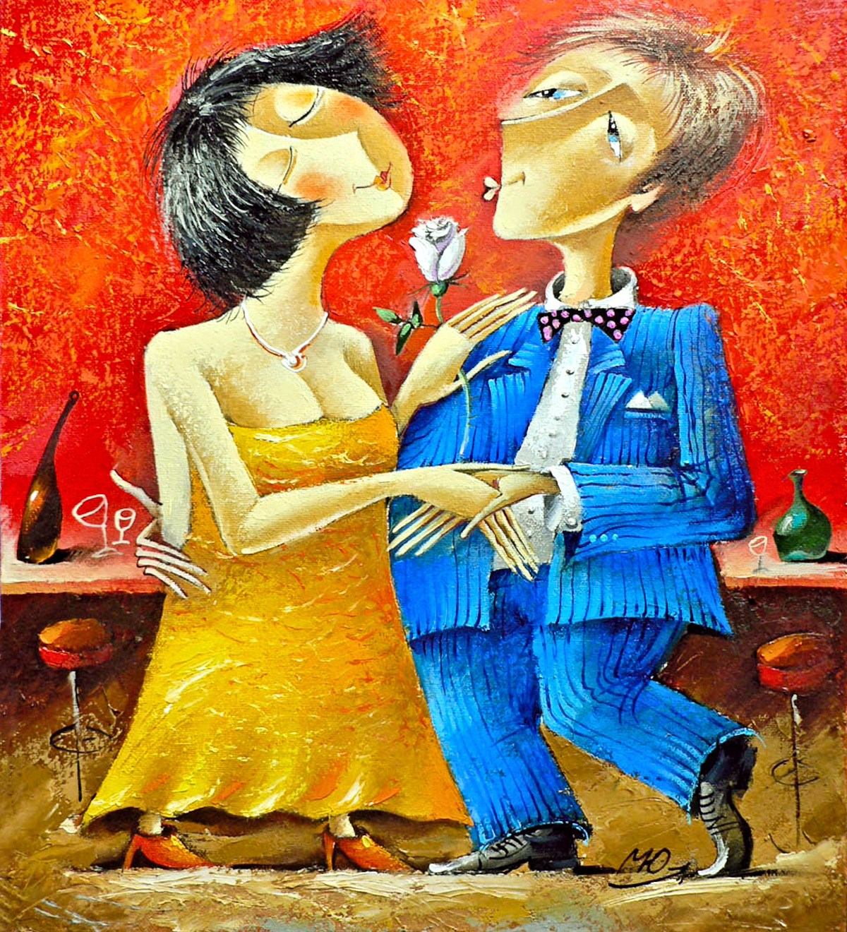 00 Yuri Matsik. A Dancing Couple. 2006