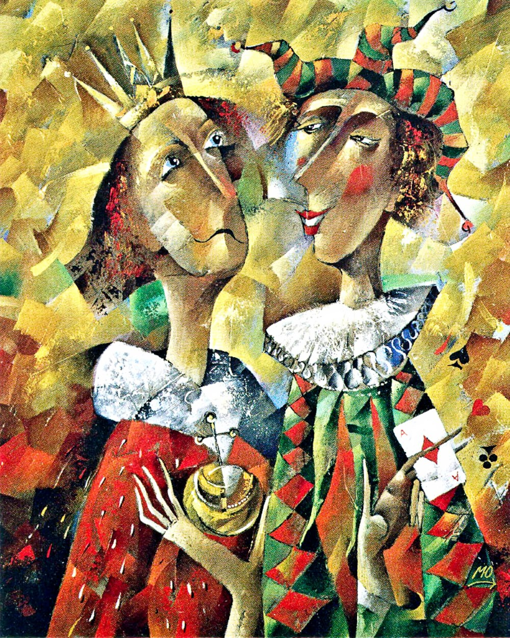 00 Yuri Matsik. The King and the Jester. 2005