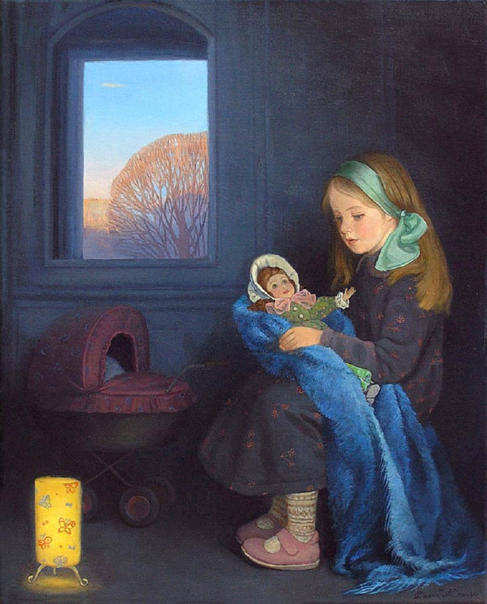 Tatiana Dery. An Evening Lullaby. 2004