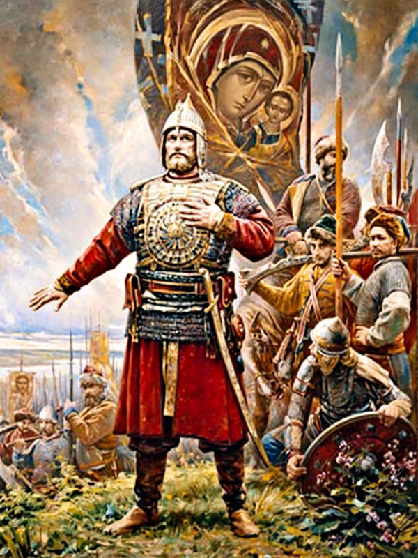 00 Vasili Nesterenko. The Oath of Prince Pozharsky. 2008