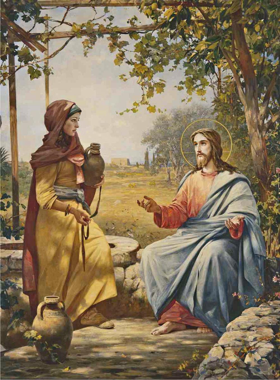 0000 Vasili Nesterenko Christ And The Samaritan Woman 2001