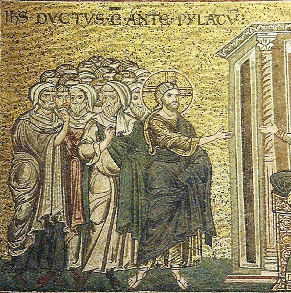 unknown artist christ before pilate cathedral of the
