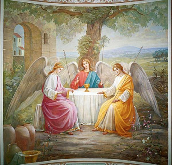Tuhan Tritunggal Sebelum Masehi