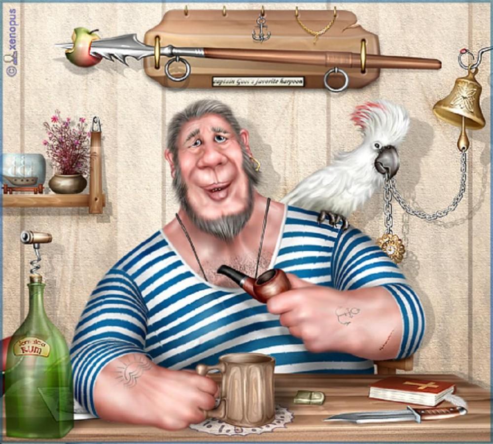 картинки бывалого моряка юмор уровень чемпионата россии