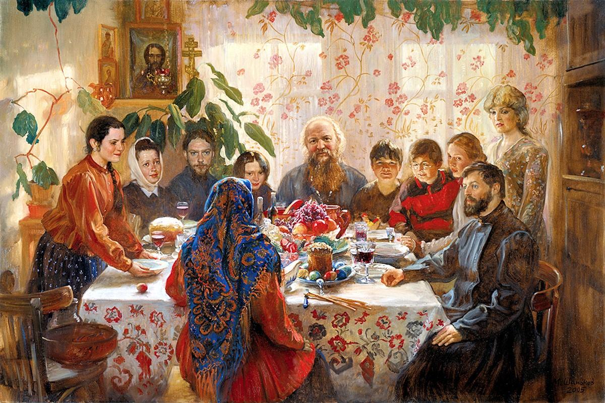 00 Mikhail Shankov. Easter Table. 2005