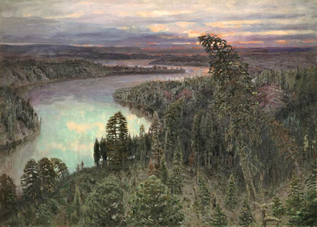 Apollinary Vasnetsov. A Northern Place. 1899