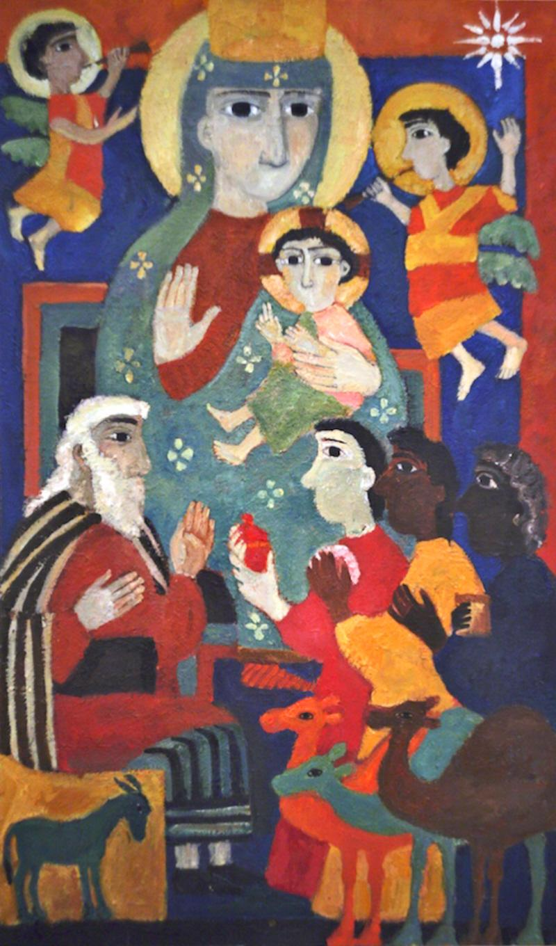 Yelena Cherkasova. The Nativity. undated