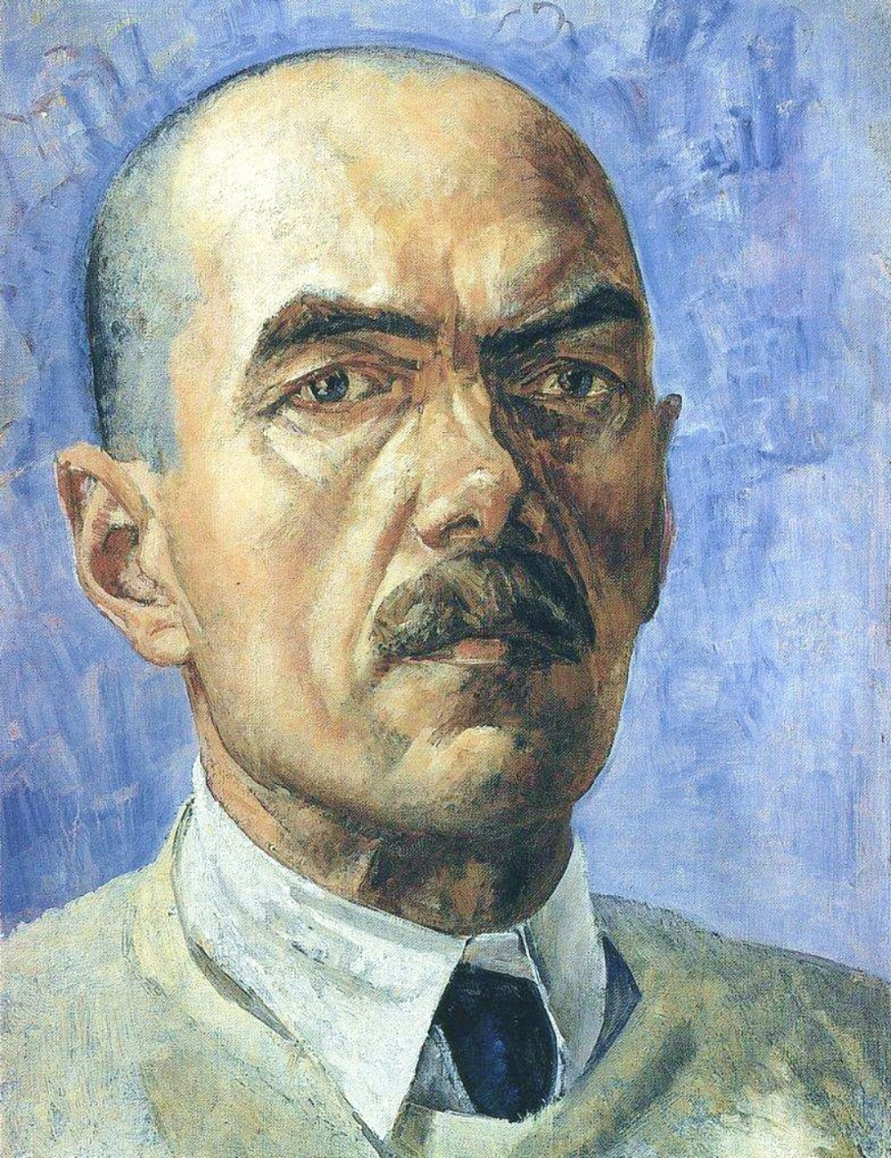 00 Kuzma Petrov-Vodkin. A Self-Portrait 1929