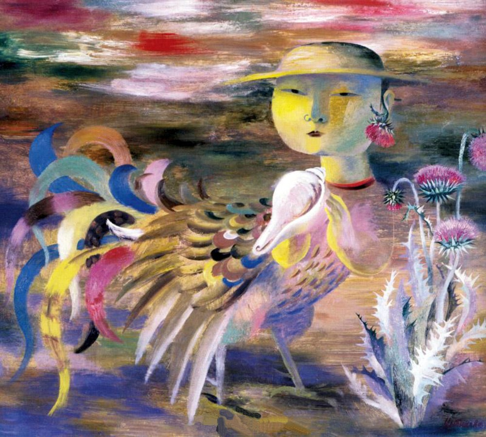 Albina Tsybikova. The Cockerel. 1991
