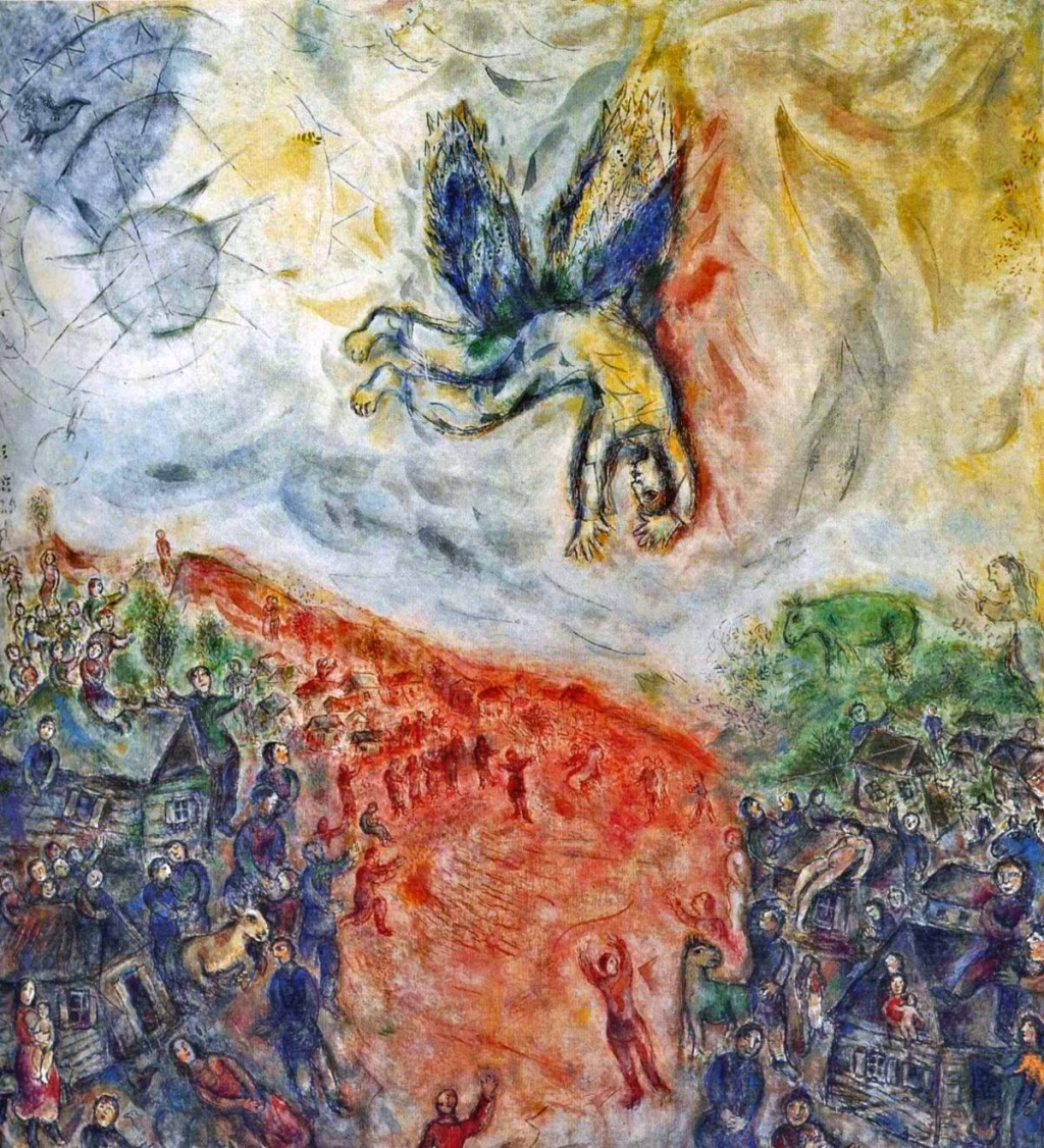 Marc Chagall. The Fall of Icarus. 1975
