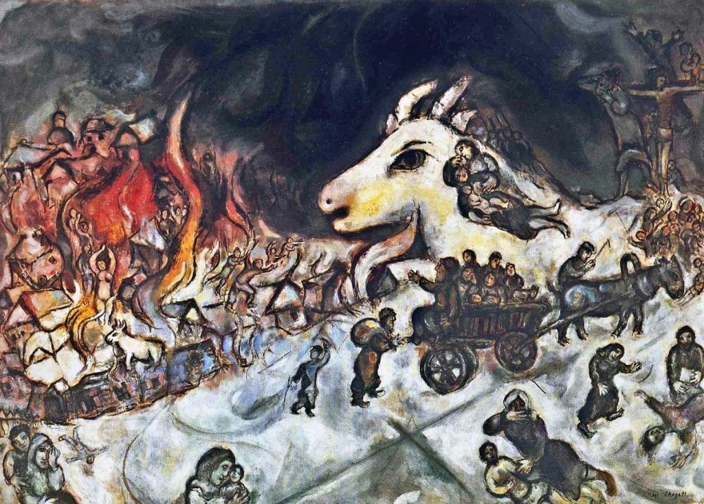 Marc Chagall. War. 1964-66