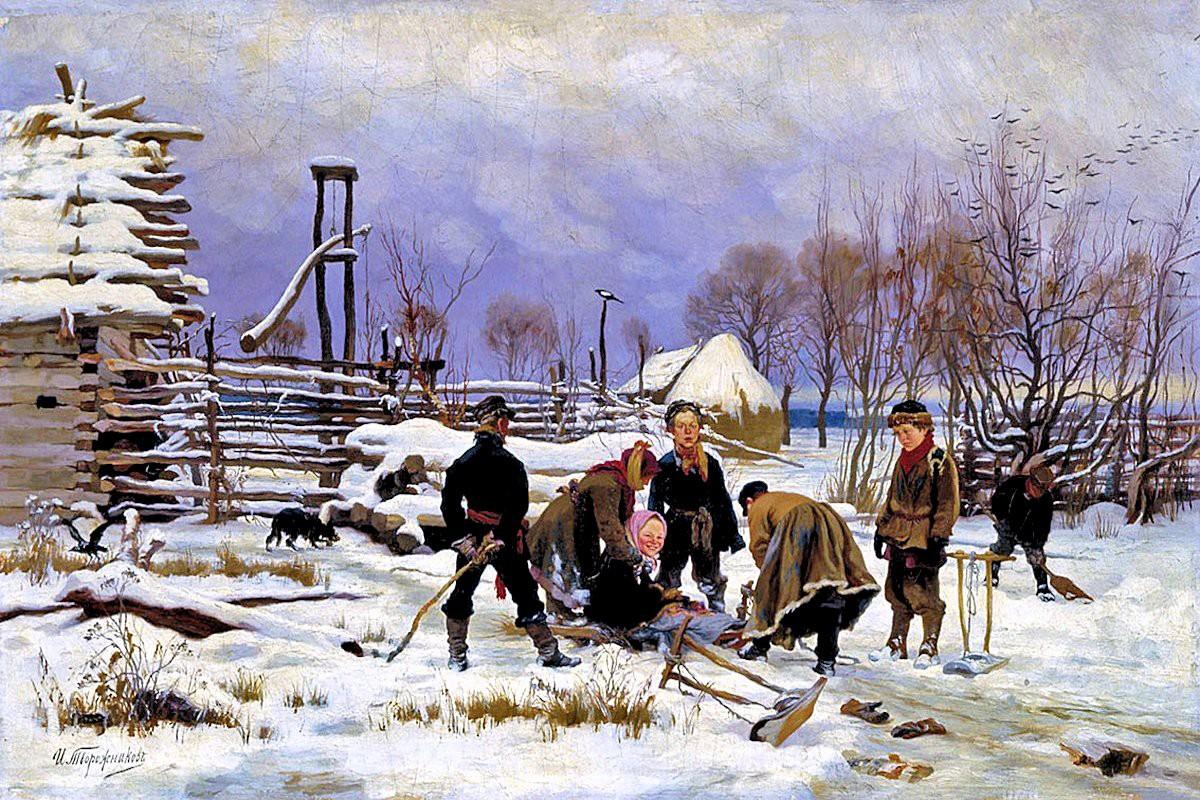 Ivan Tvorozhnikov. Winter. undated. 1880s
