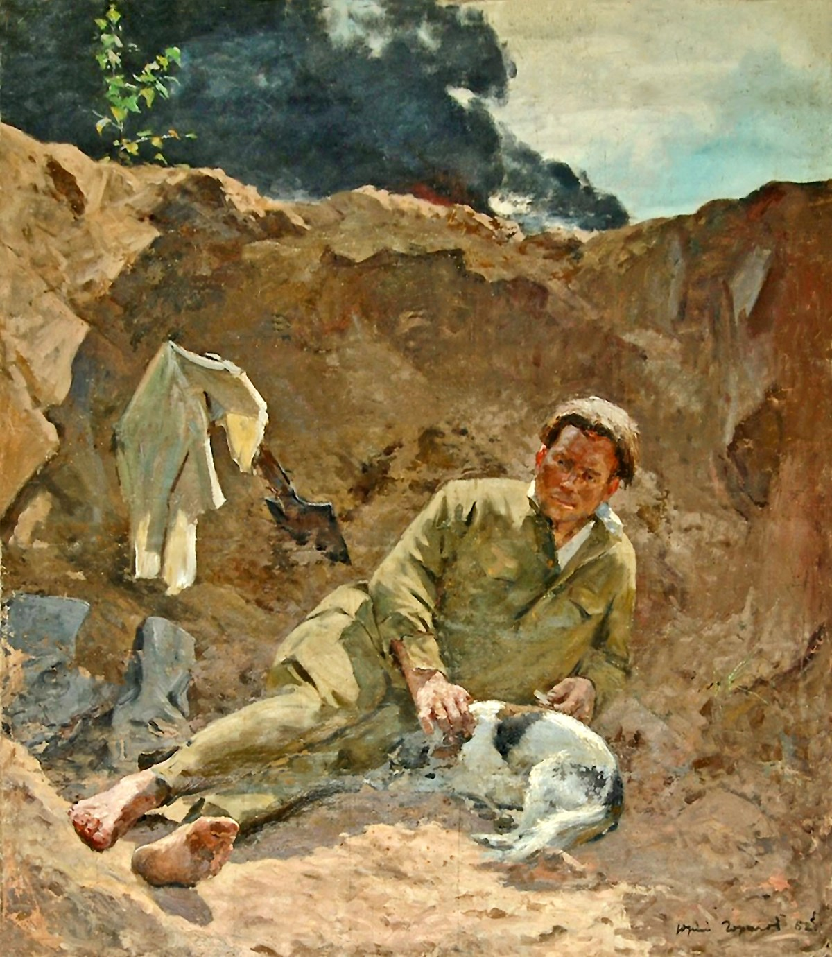 00 Yuri Gorelov. Do Russians Want War. 1962
