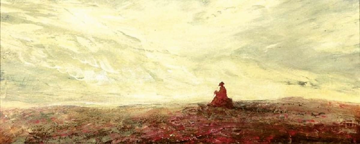 00 Mikhail Shankov. A Wanderer. 1992