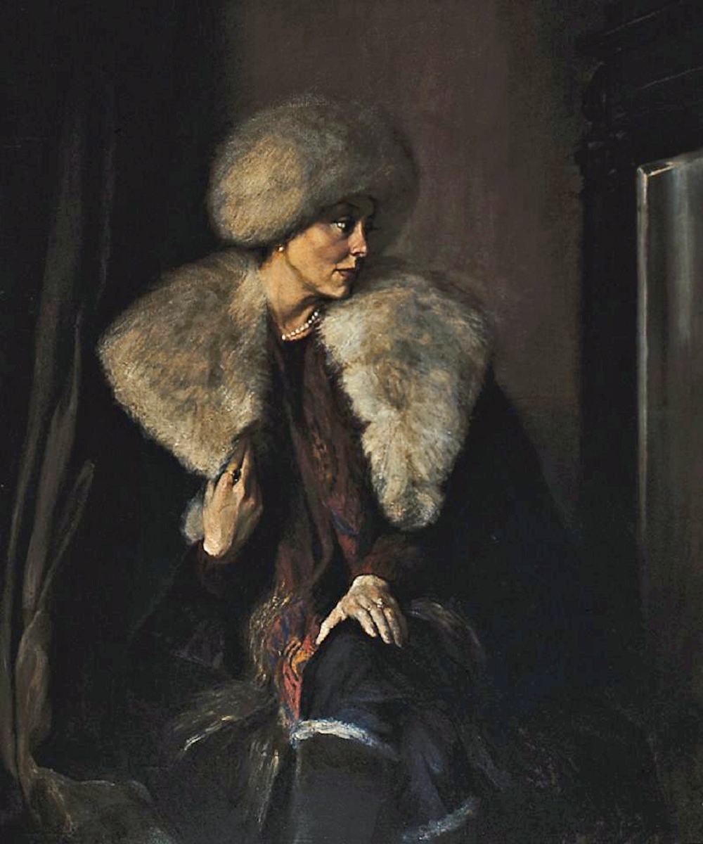 00 Mikhail Shankov. At the Mirror. 1985