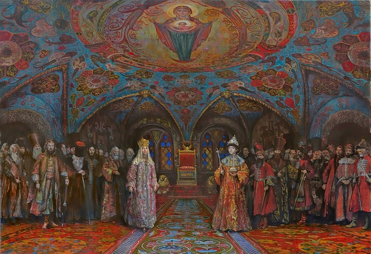 00 Mikhail Shankov. The First Romanov. 2013