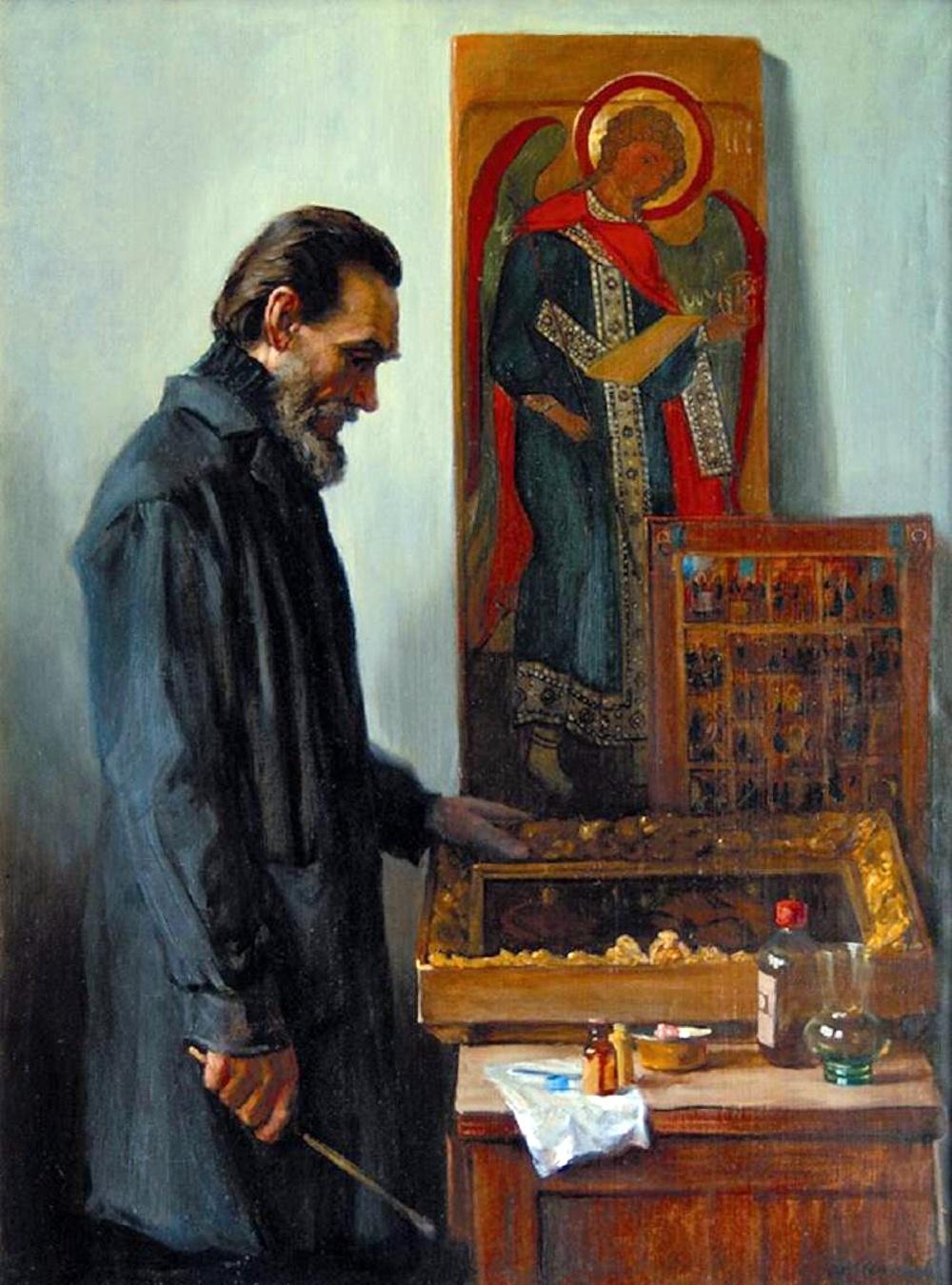 00 Mikhail Shankov. The Restorer. 1984