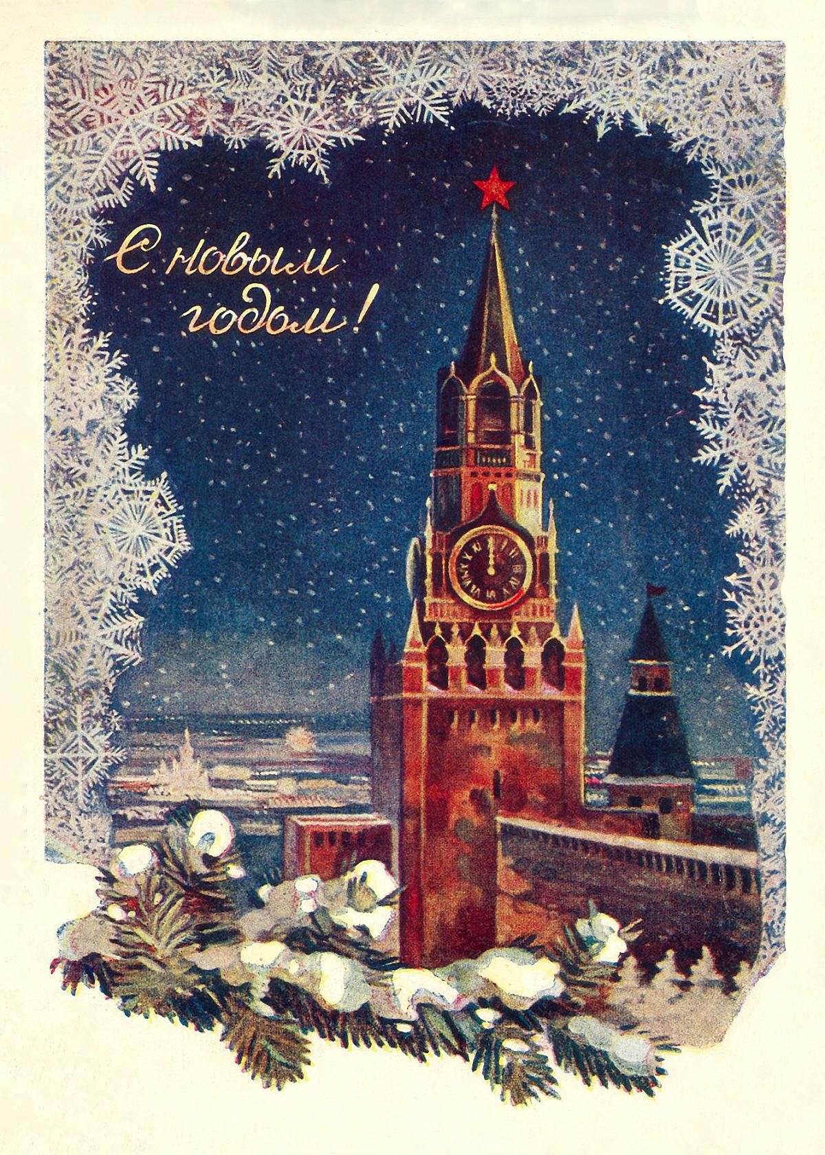 00 New Year 03. Kremlin Moscow. 01.01.14