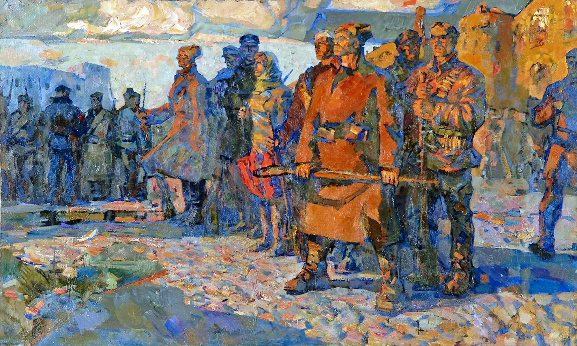 00 Aleksandr Turansky. Rebels. 1957