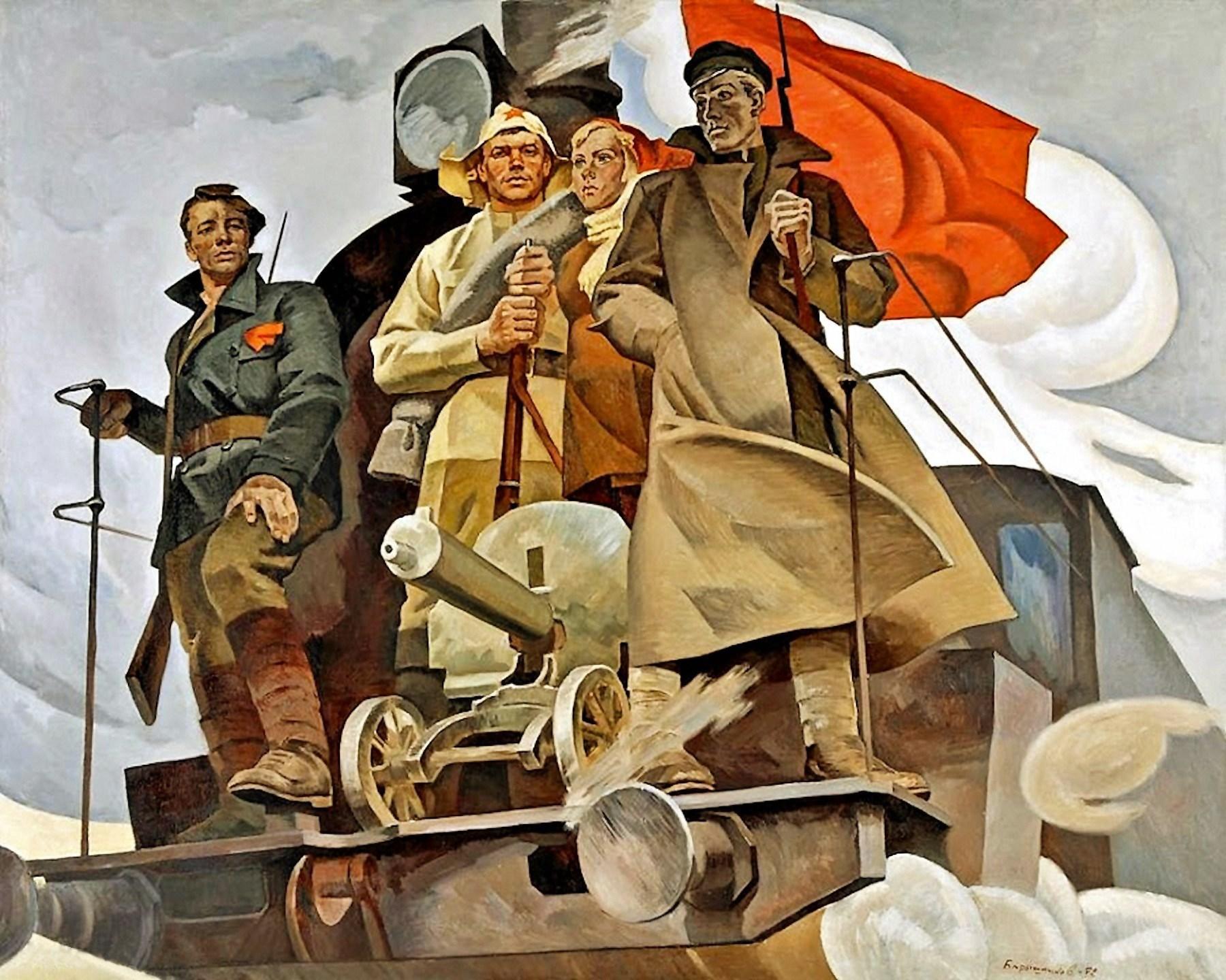 00 Konstantin Kashcheyev. 7 November. 1949
