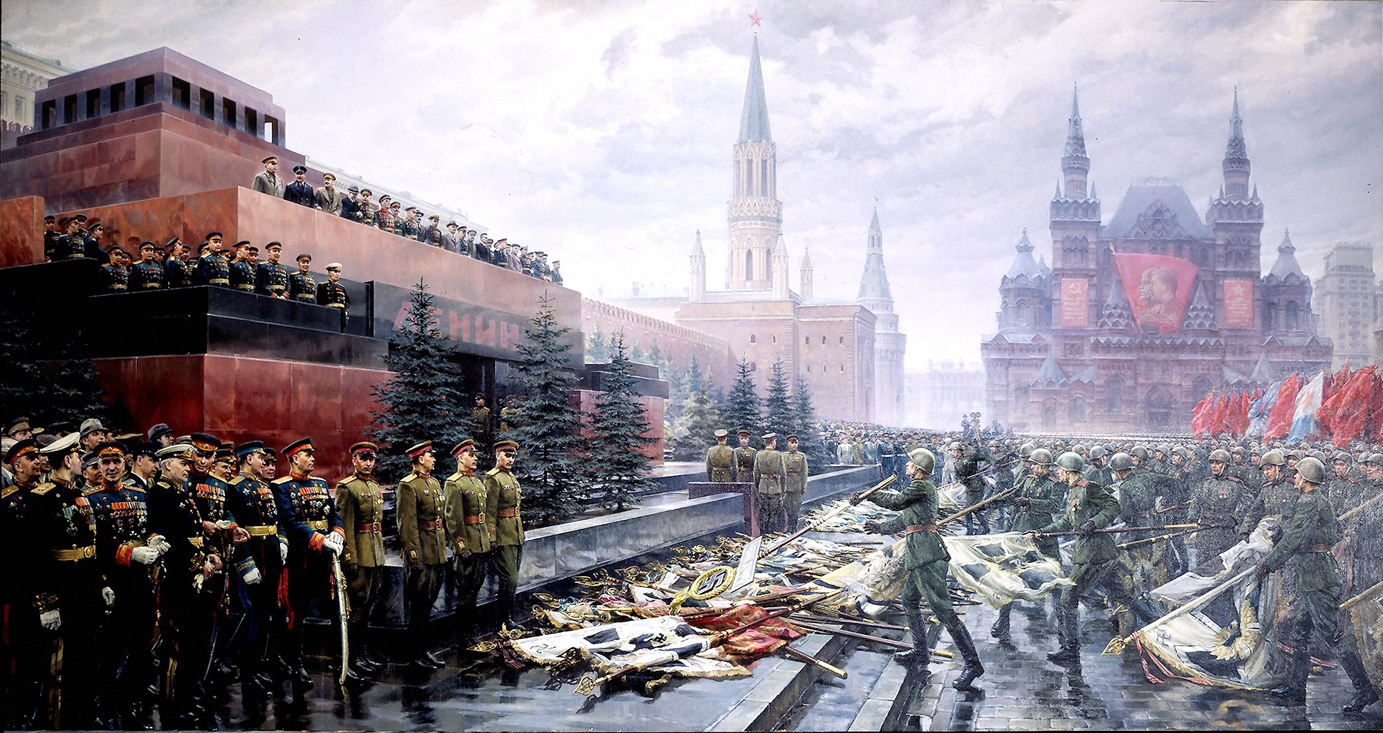 00 Mikhail Khmelko. The Triumph of the Victorious Mother-Motherland. 1949