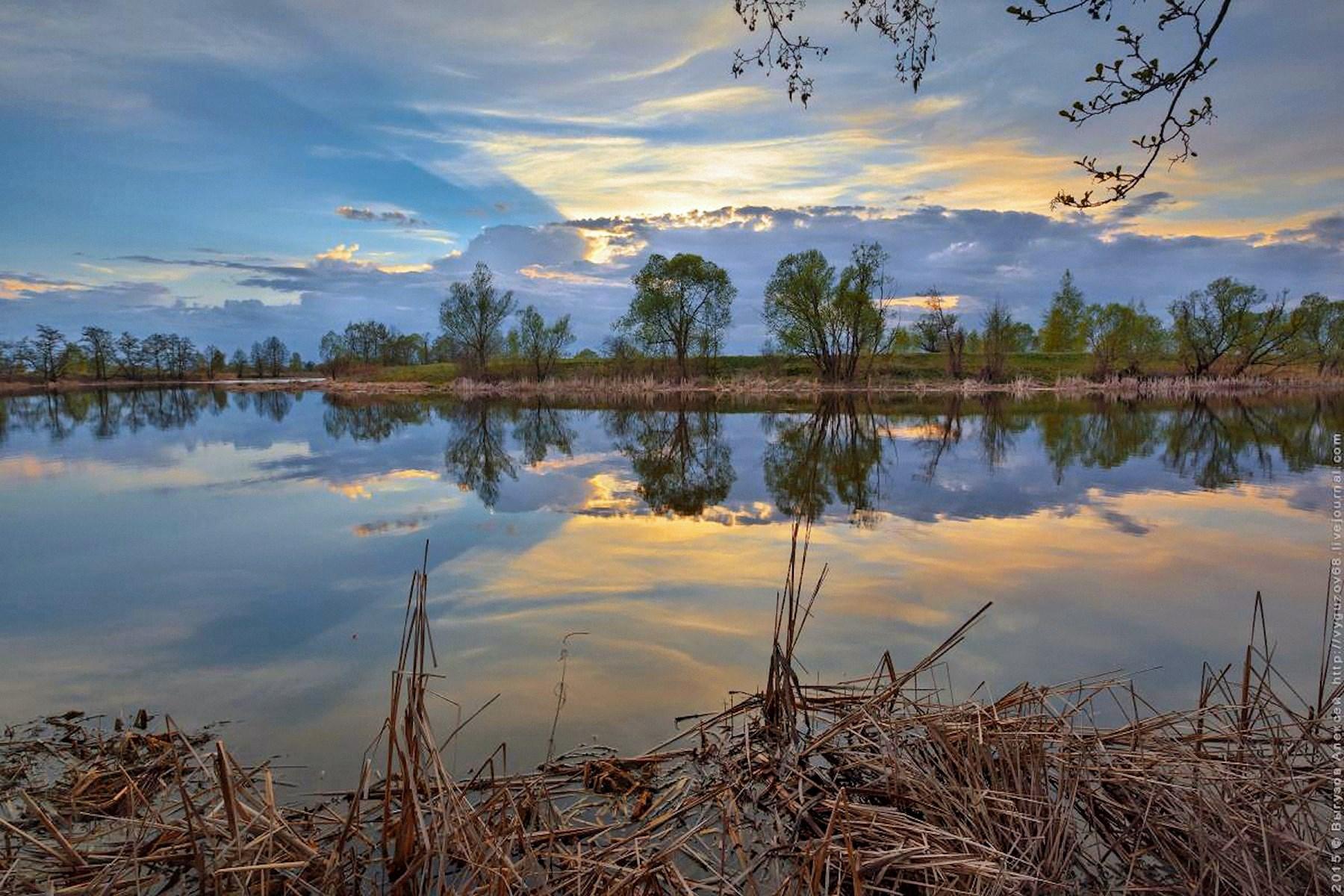 00 Vyasceslav Gilyov. River Tsna in Tambov Oblast. 2015