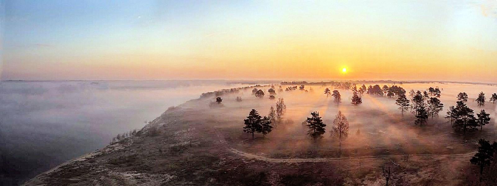 00 Yevgeni Vorobyov. Dawn on the border of Vladimir and Nizhny Novgorod oblasts. 2015