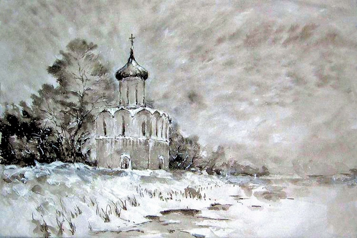 00 nikolai mishukov. church of the intercession on the nerl. 2010