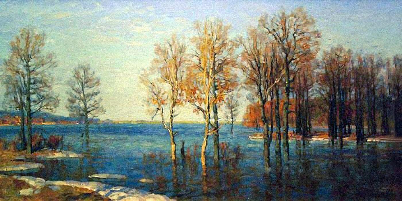 00 Nikolai Burdastov. Flood. 2004