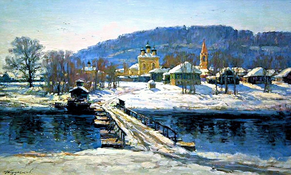 00 Nikolai Burdastov. A Blue Spring. 2000