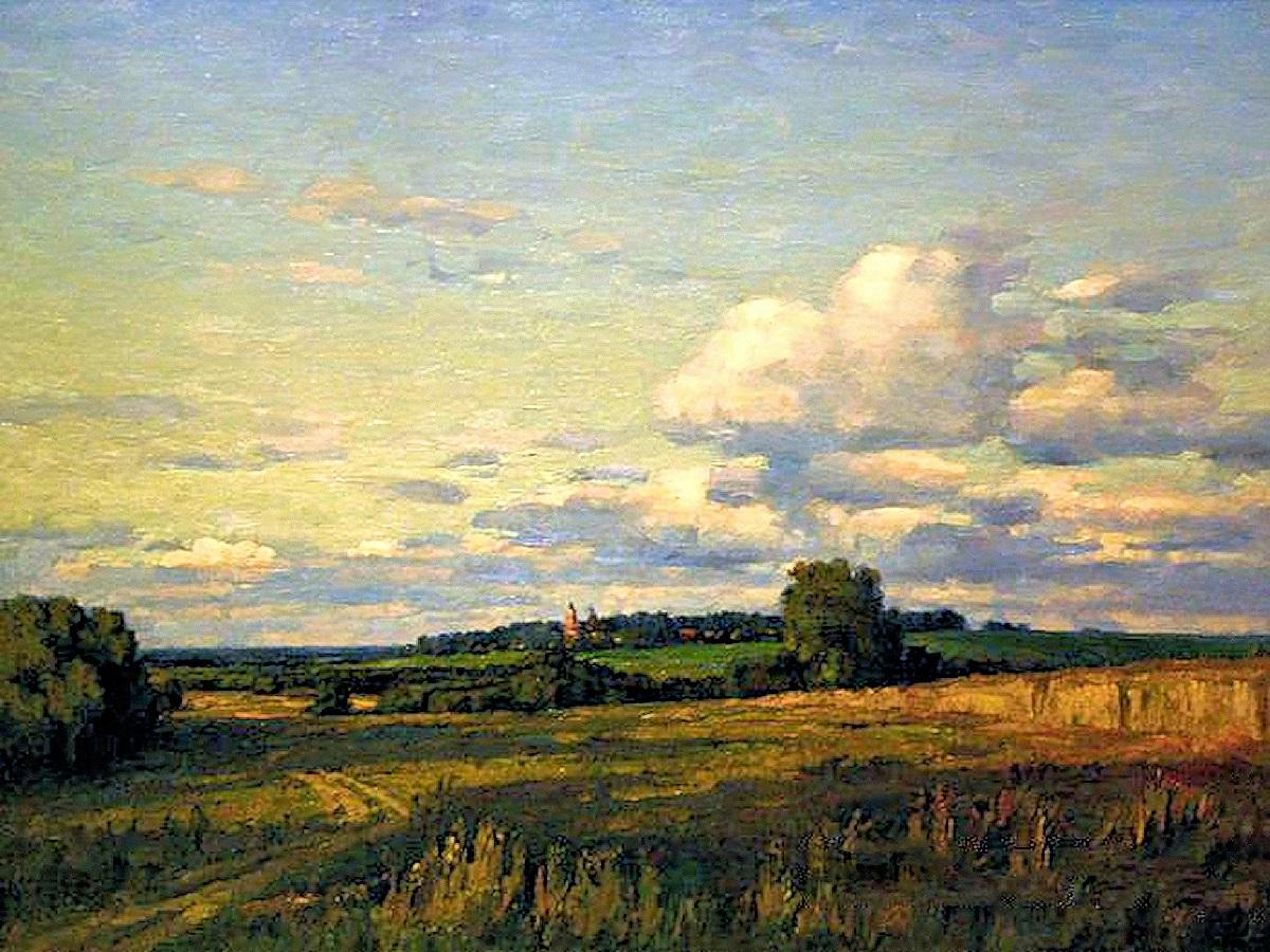 00 Nikolai Burdastov. Evening in the Outskirts. 2000