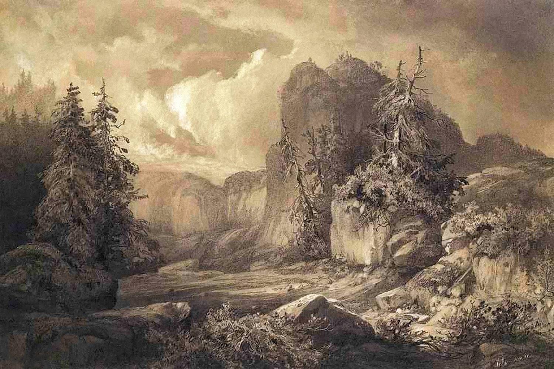 00 Ivan Davydov. Black Head. 1856