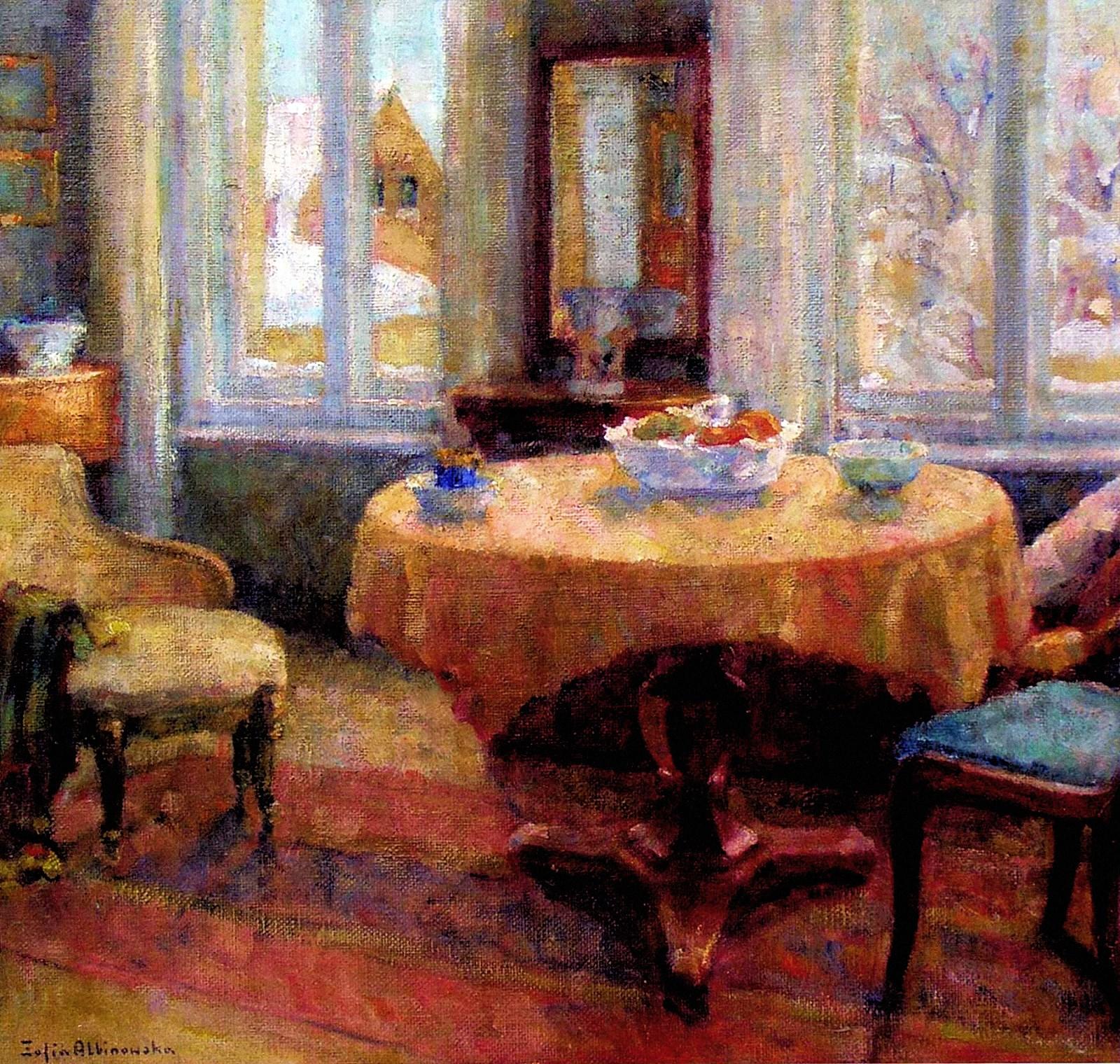 00 Sofiya Albinovskaya-Minkevich. A Frozen Day. 1963