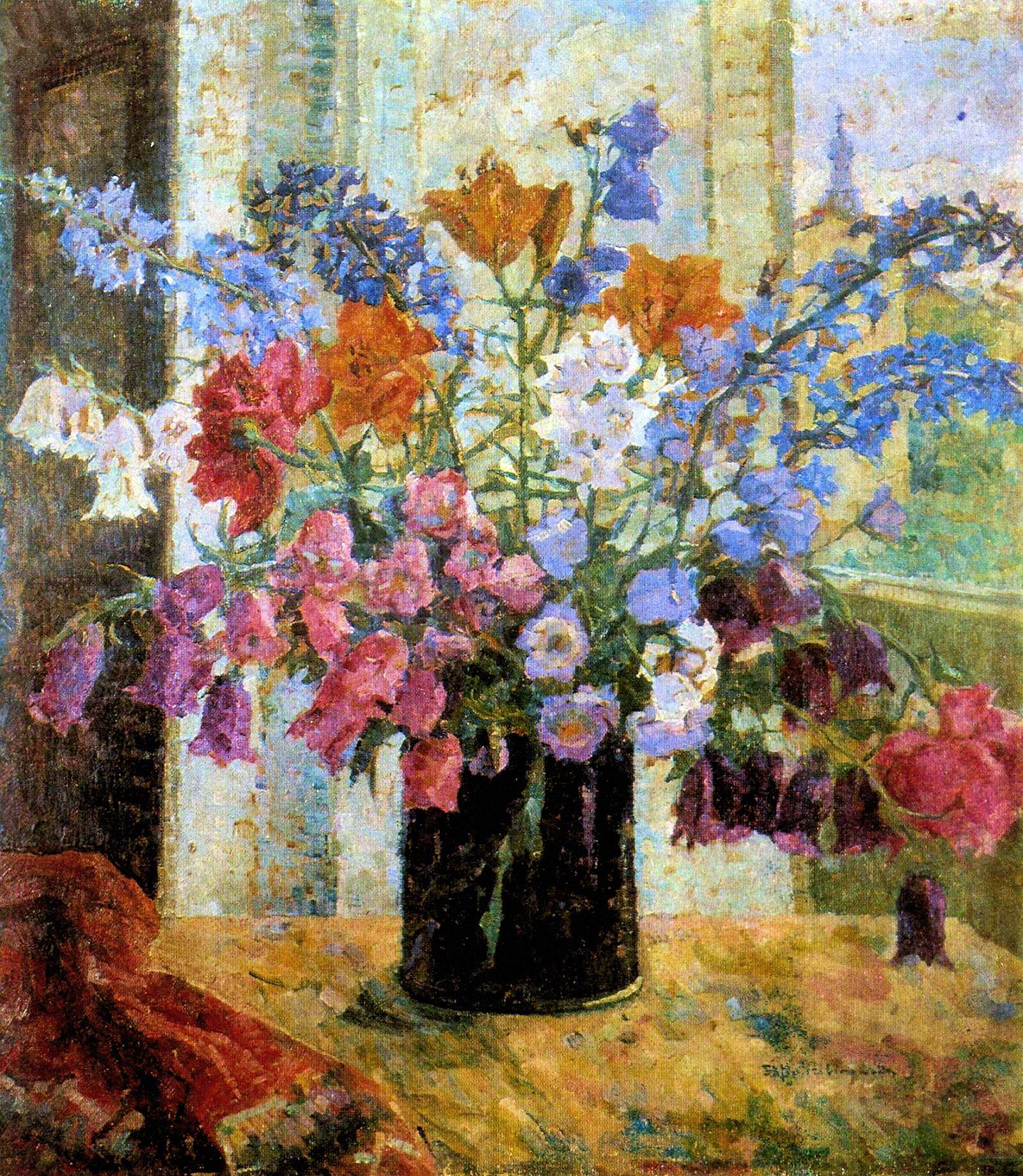 00 Sofiya Albinovskaya-Minkevich. A Still Life. 1940